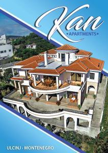 Apartmán Apartments Kan Ulcinj Čierna Hora