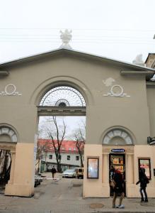 One bedroom Labdariu, Apartmanok  Vilnius - big - 25