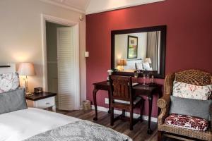 Rom med queen-size-seng