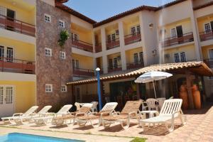 Hotel Brisa dos Abrolhos, Hotels  Alcobaça - big - 12