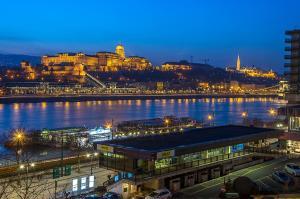 Danube Pest-side Apartment, Apartmány  Budapešť - big - 37