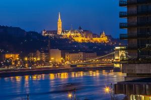 Danube Pest-side Apartment, Apartmány  Budapešť - big - 36