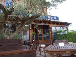 Hotel Jakue, Hotel  Puente la Reina - big - 1