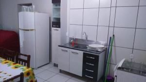 Apartamento na Praia de Enseada, Ferienwohnungen  São Francisco do Sul - big - 15