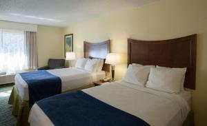 Double Room with Two Double Beds - Front Wing - Non smoking