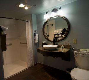 King Suite with Roll-In Shower - Disability Accessible/Non-Smoking