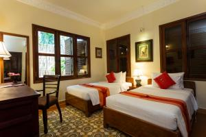 HanumanAlaya Colonial House, Hotely  Siem Reap - big - 22