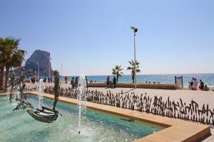 Holiday Apartment Peñón de Ifach, Apartmanok  Calpe - big - 6