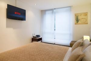 Suites Metropoli Bristol Park, Апартаменты  Кито - big - 55