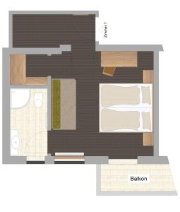 Haus Edelweiss, Apartments  Schladming - big - 19