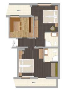 Haus Edelweiss, Apartments  Schladming - big - 23