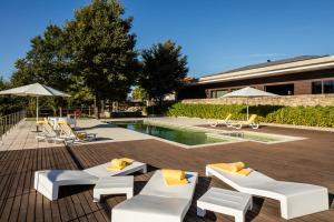 Solar Dos Caceres, Отели  Fornos de Algodres - big - 24