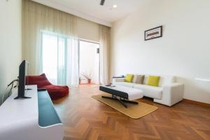 Home-Suites in Straits Quay, Penang, Апартаменты  Танджунг-Бунга - big - 40