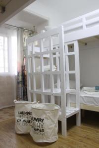 Bed op een Vrouwenslaapzaal met 6 Bedden