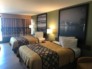 Deluxe Queen Room with Two Queen Beds - Non-Smoking - Pool View