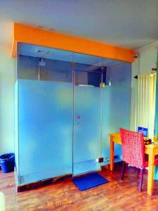 Zweibettzimmer mit privatem Bad