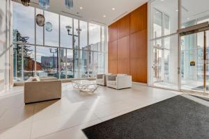 Luxury Sub-Penthouse – Downtown Riverfront, Apartmánové hotely  Calgary - big - 17