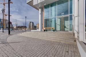Luxury Sub-Penthouse – Downtown Riverfront, Apartmánové hotely  Calgary - big - 20