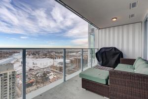 Luxury Sub-Penthouse – Downtown Riverfront, Apartmánové hotely  Calgary - big - 26