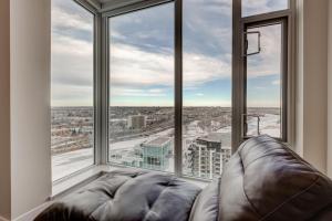 Luxury Sub-Penthouse – Downtown Riverfront, Apartmánové hotely  Calgary - big - 7