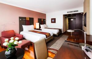 Premium Deluxe Twin Room - High floor