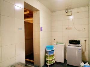 Einzelbett im Schlafsaal mit 4 Betten