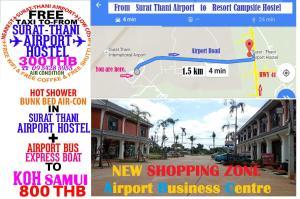 Suratthani Airport Hostel, Hostelek  Szuratthani - big - 44