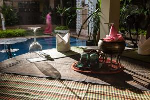 HanumanAlaya Colonial House, Hotely  Siem Reap - big - 74