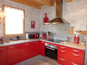 Chalet Le Villard, Alpesi faházak  Enchastrayes - big - 9