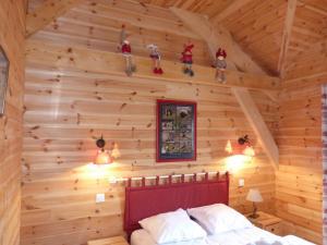 Chalet Le Villard, Alpesi faházak  Enchastrayes - big - 6