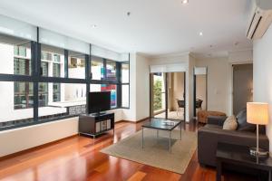 Apartament z 1 sypialnią i balkonem