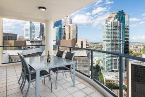 Apartament z 3 sypialniami i balkonem