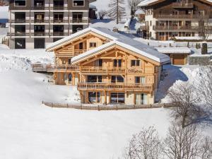 Chalet Macaron, Alpesi faházak  Le Grand-Bornand - big - 15