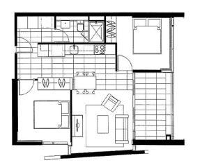 Melbourne CBD Studio, Апарт-отели  Мельбурн - big - 17