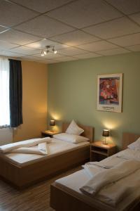 Rheinauer Hof - Das Hotel am Riedweg, Szállodák  Mannheim - big - 9