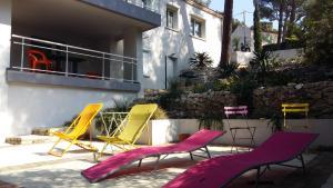 Villa Bobnell, Apartments  Cassis - big - 27