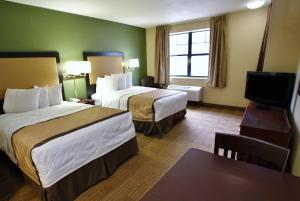一室公寓 - 带两张双人床 - 禁烟