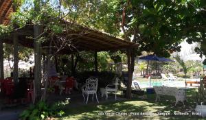 Vila Verde Chalés, Гостевые дома  Estância - big - 41