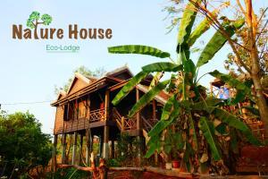 Nature House, Комплексы для отдыха с коттеджами/бунгало  Banlung - big - 8