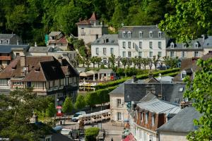 Logis Hotel Beaudon, Hotely  Pierrefonds - big - 18