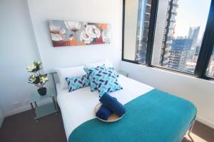 Melbourne CBD Studio, Апарт-отели  Мельбурн - big - 41