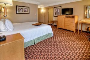 Zimmer mit Kingsize-Bett und Badewanne - Barrierefrei / Nichtraucherzimmer