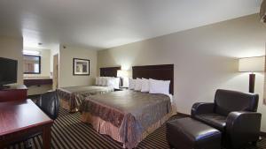 Habitación Doble adaptada para personas de movilidad reducida con 2 camas dobles