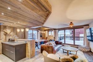 Canadienne 9 - Caribou, Apartments  Val d'Isère - big - 7