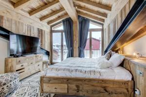 Canadienne 9 - Caribou, Apartments  Val d'Isère - big - 10