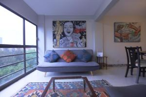 2 Bedroom Apartment close to Downtown CDMX, Apartmanok  Mexikóváros - big - 10