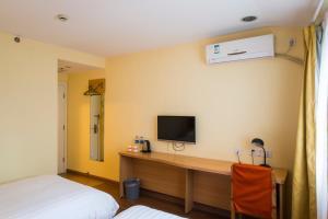Home Inn Dalian Gangwan Square, Отели  Далянь - big - 20