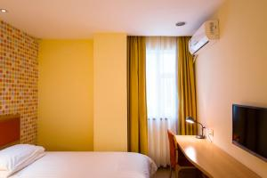 Home Inn Dalian Railway Station South Square Huanghe Road, Отели  Далянь - big - 6