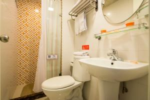 Home Inn Dalian Railway Station South Square Huanghe Road, Отели  Далянь - big - 26