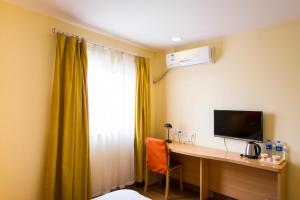 Home Inn Dalian Railway Station South Square Huanghe Road, Отели  Далянь - big - 22